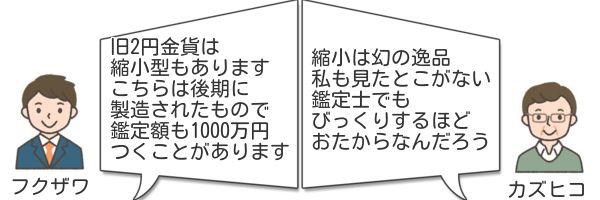 旧2円金貨縮小型改正版価格