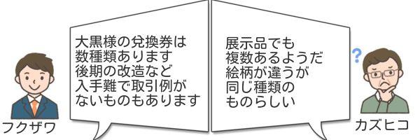 旧兌換銀行券5円改造券