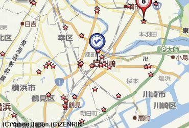 川崎古銭買取地図