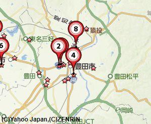 豊田古銭買取地図