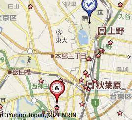 東京上野買取会社地図
